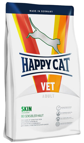 Happy Cat VET Diet Skin - for cases of sensitive skin 1.4Kg Dry Cat Food Happy Pet