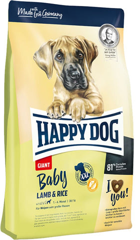 Happy Dog Baby Giant Lamb and Rice Dry Dog Food Happy Pet
