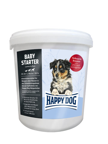 Happy Dog Baby Starter Lamb & Rice Dry Dog Food Happy Pet