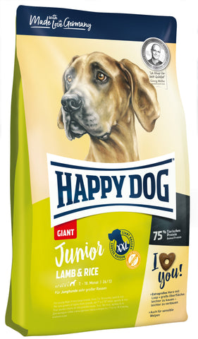 Happy Dog Junior Giant Lamb & Rice Dry Dog Food Happy Pet