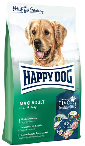 Happy Dog Supreme Fit & Well Maxi Adult Dry Dog Food Happy Pet