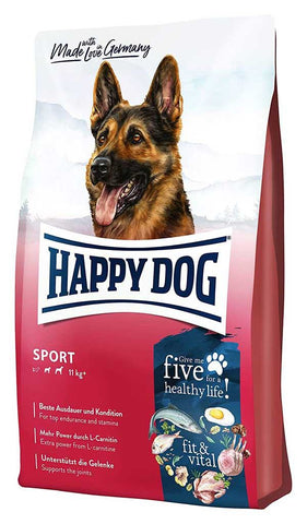 Happy Dog Supreme Fit&Well Sport Adult Dry Dog Food Happy Pet 14kg