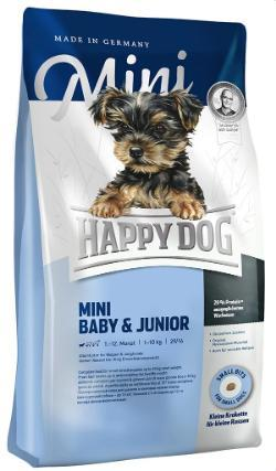 Happy Dog Supreme Mini Baby & Junior Dry Dog Food Happy Pet