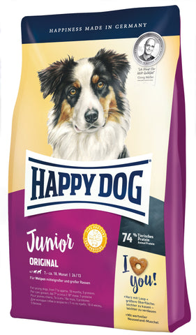 Happy Dog Supreme Young - Junior Original Dry Dog Food Happy Pet