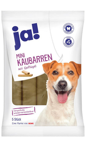 JA! Chicken Chew Bars for Dog 5 Pcs Dog Treats JA!