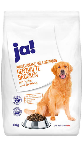 JA! Hearty Chunks with Chicken and Vegetables Dog Food 10kg Dry Dog Food JA!