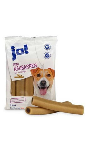 Ja Mega chewable bars with poultry Dog Treats JA!
