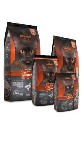 LEONARDO® ADULT DUCK Dry Cat Food Bewital