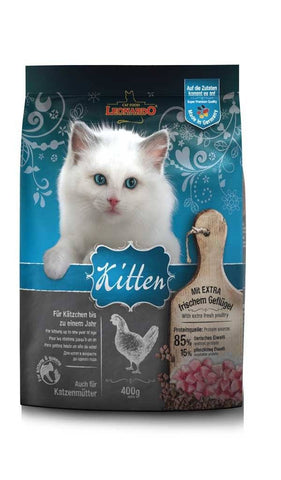 LEONARDO® KITTEN Dry Cat Food Bewital 400g