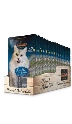 LEONARDO® TROUT + CATNIP Wet Cat Food Bewital