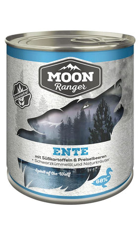 Moon Ranger duck with sweet potatoes & cranberries 800g Wet Dog Food Zooroyal