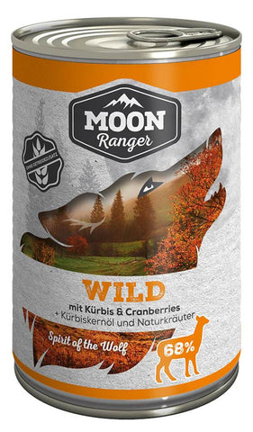 Moon Ranger game with pumpkin & cranberries Dog Wet Food 400g Wet Dog Food Zooroyal