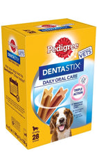 Pedigree Dentastix 28 pieces for small and medium Dogs Dog Treats Pedigree