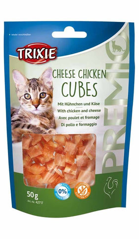 Premio Cheese and Chicken Cubes 50g Trixie