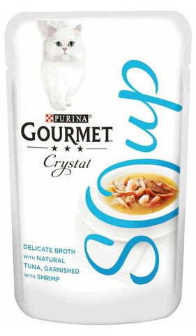 Purina Gourmet Crystal Cat Soup 40g Wet Cat Food Purina