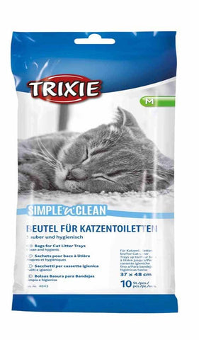 Simple and Clean Bags For Litter Trays - M Cat Accessories Trixie