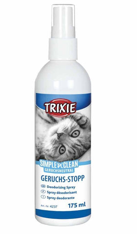 Simple and Clean Deodorising spray 175ml Cat Accessories Trixie