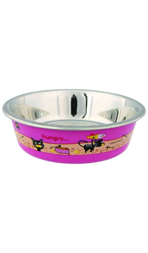 Stainless Steel Bowl Cat Accessories Trixie