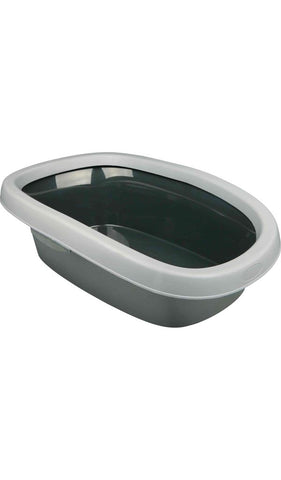 Trixie Carlo cat litter tray, with rim Cat Accessories Trixie