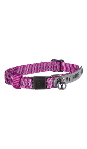 Trixie Cat collar with address tag, reflective, nylon Cat Accessories Trixie