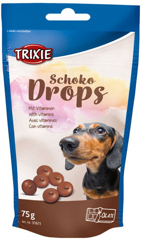 Trixie Chocolate Drops Dog Treats Trixie 75g