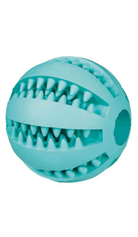 Trixie Denta Fun ball, mint flavour, natural rubber, ø 5 cm Dog accessories Trixie