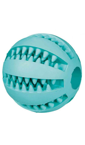 Trixie Denta Fun ball, mint flavour, natural rubber, ø 6 cm Dog accessories Trixie