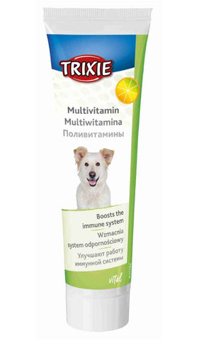 Trixie Multivitamin Paste For Dogs 100g Supplements Trixie