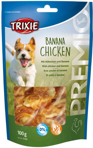 Trixie Premio Banana Chicken Dog Treats Trixie
