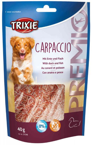 Trixie Premio Carpaccio with Duck & Fish Dog Treats Trixie