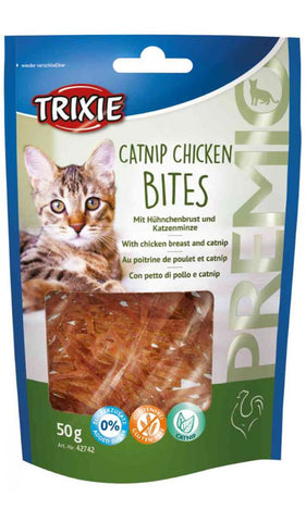 Trixie Premio Catnip Chicken Bites Cat Treats Trixie