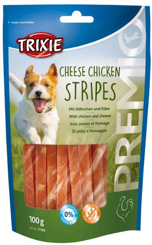 Trixie Premio Chicken Cheese Stripes Dog Treats Trixie