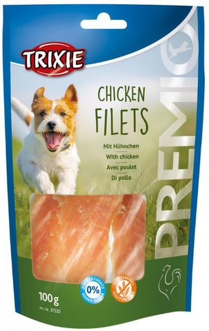 Trixie Premio Dog Chicken Filets Dog Treats Trixie