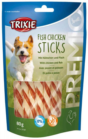 Trixie Premio Fish Chicken Sticks Dog Treats Trixie