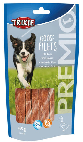 Trixie Premio Goose Filets Dog Treats Trixie
