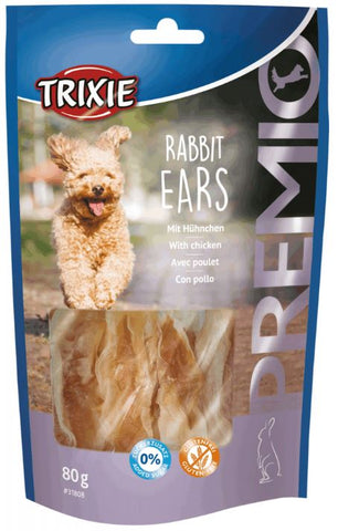 Trixie Premio Rabbit Ears Dog Treats Trixie