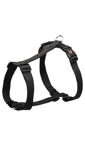 Trixie Premium H-Harness Dog accessories Trixie S–M: 42–60 cm/15 mm black