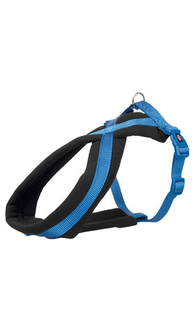 Trixie Premium Touring Harness Dog accessories Trixie M–L: 50–90 cm/25 mm royal blue