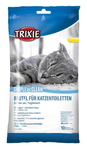 Trixie Simple'n'Clean Bags for Cat Litter Trays Cat Accessories Trixie