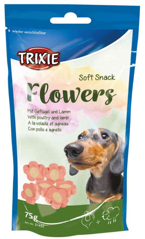 Trixie Soft Snack Flowers For Dogs Dog Treats Trixie