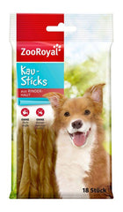 ZooRoyal Dog Chew Sticks 18 Stück Dog Treats Zooroyal