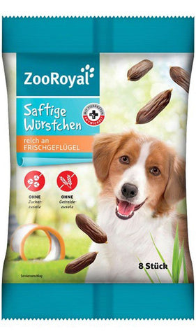 ZooRoyal Dog Snack Juicy Sausages Dog Treats Zooroyal