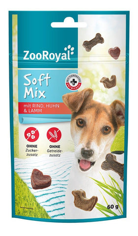 ZooRoyal Dog Treat Soft Mix Dog Treats Zooroyal