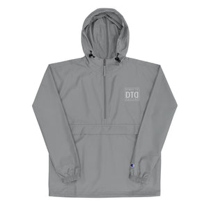 DTD Embroidered Champion Packable Jacket