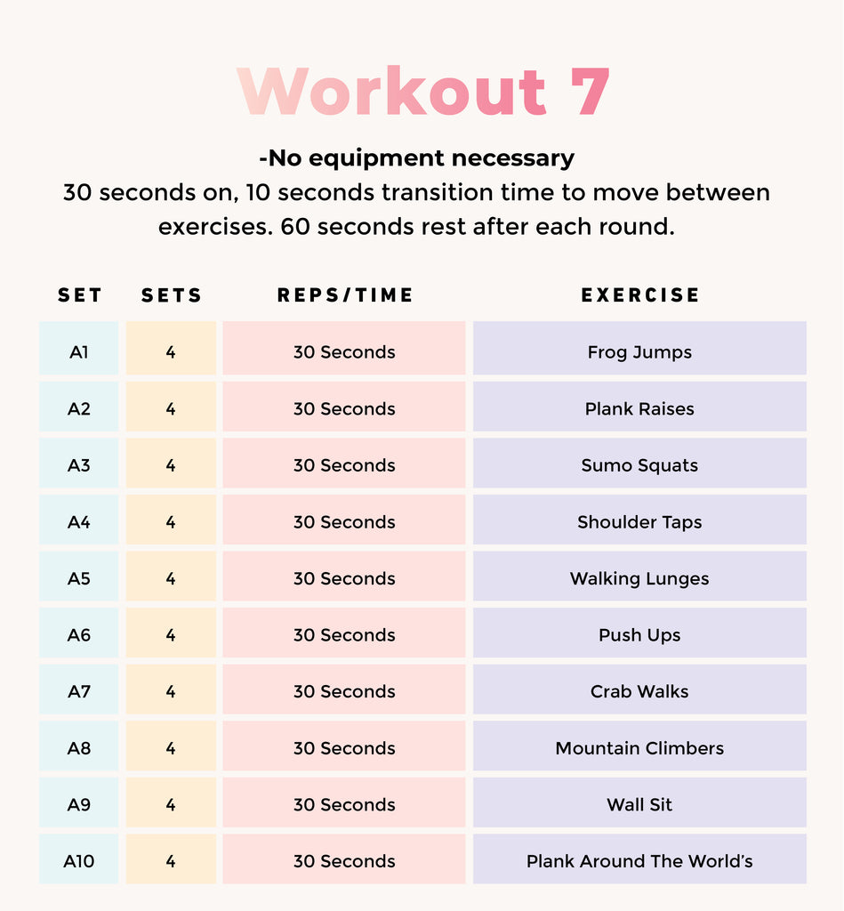 10 Workouts No Gym Required Bodies By Rachel