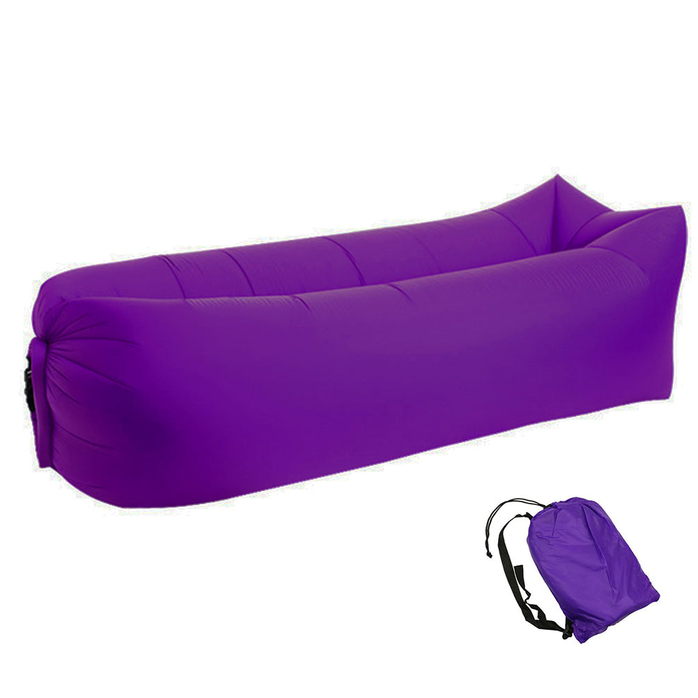 Pouf de plage - Purple Fruit