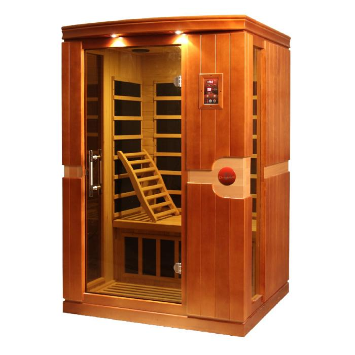 "Dynamic ""Venice"" 2-person Low EMF Far Infrared Sauna"