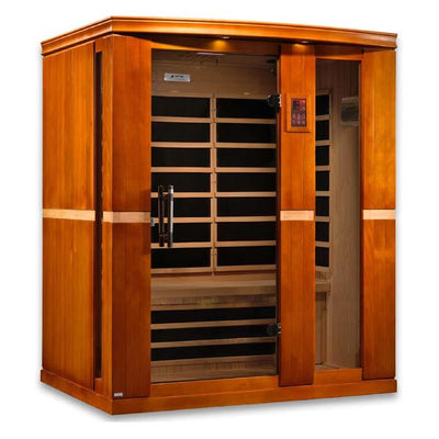 "Dynamic ""Palermo"" 3-person Low EMF Far Infrared Sauna"