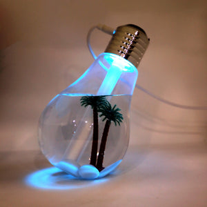 Beach Theme Bulb Shape Humidifier