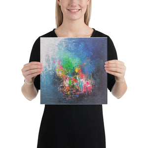Beautiful canvas art abstract painting for wall hanging/decor